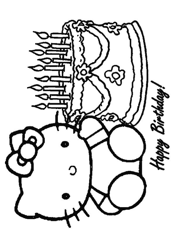 Print Coloring Image Momjunction Hello Kitty Coloring Hello Kitty Colouring Pages Hello Kitty Tattoos
