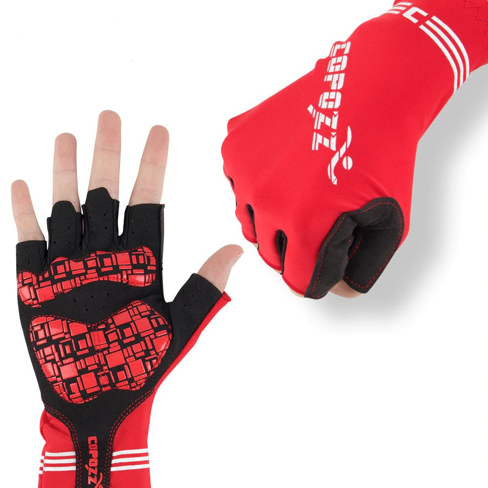 Antiskid Cycling Gloves MTB Bike Outdoor Sports Half Finger Short Finger Gloves