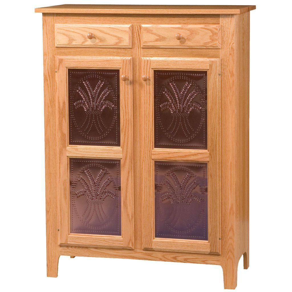 Classic pie safe amish furniture wood