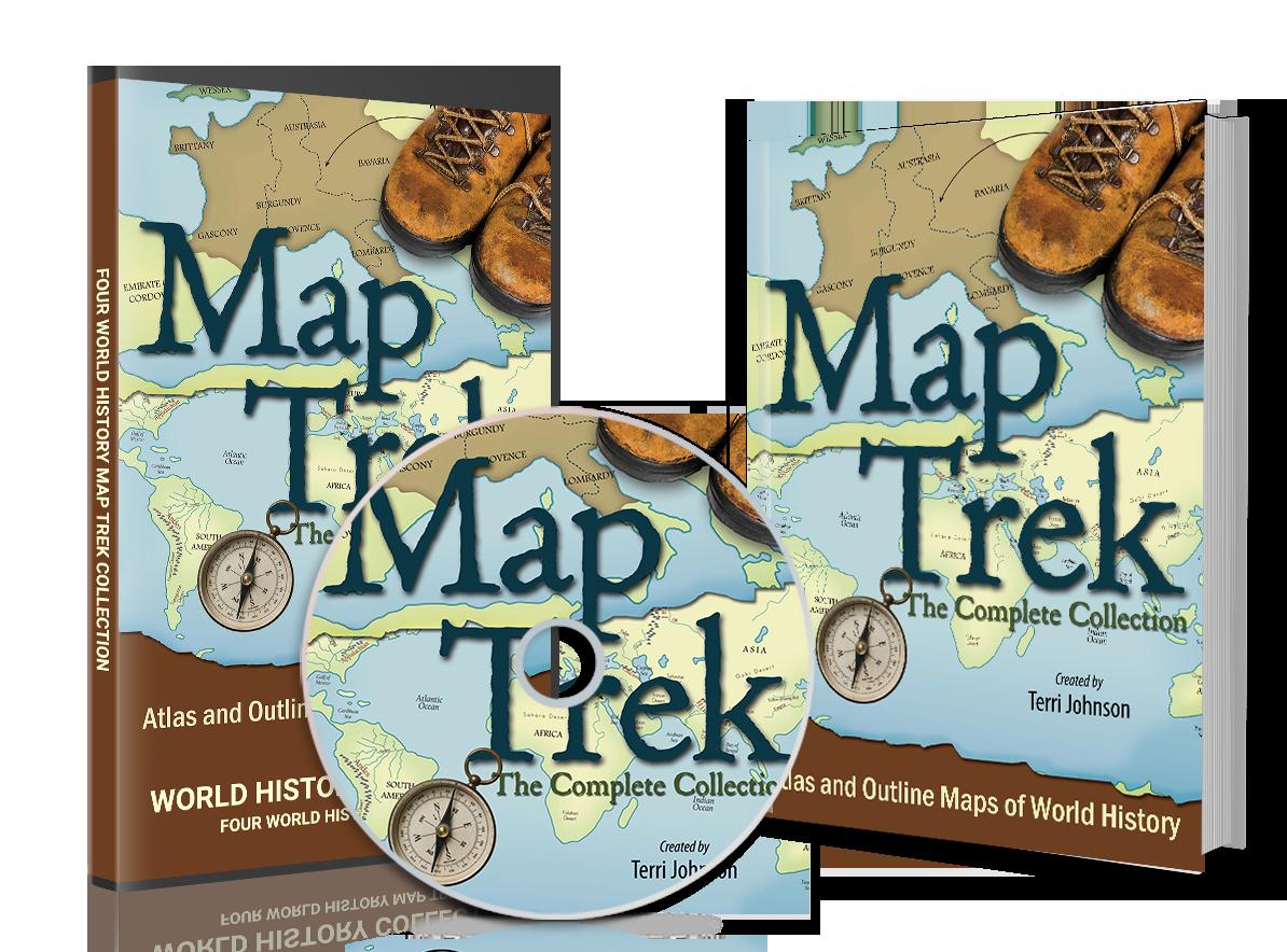 Map trek integration guides knowledge quest maps homeschooling map trek integration guides knowledge quest maps gumiabroncs Choice Image