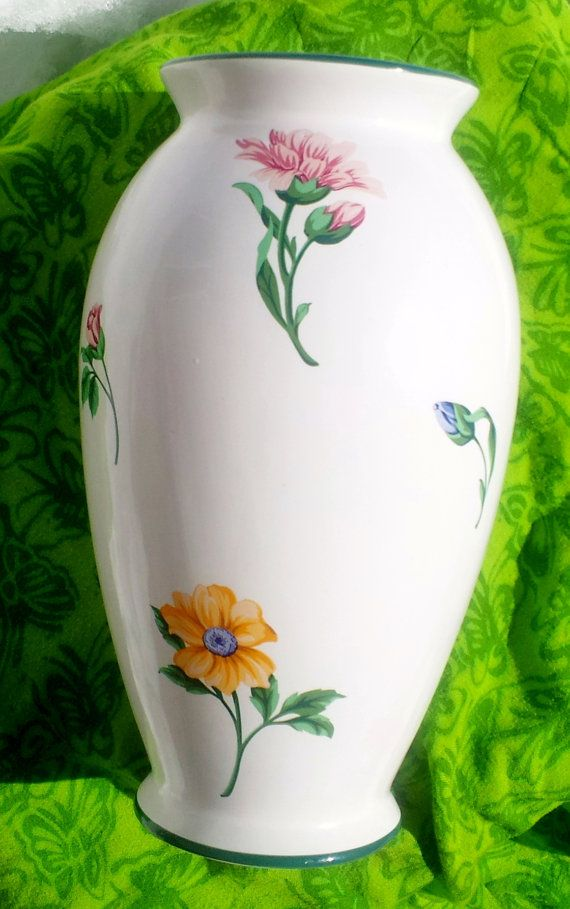 Tiffany Co Vintage Large Collectible Vase Sintra Pattern Made