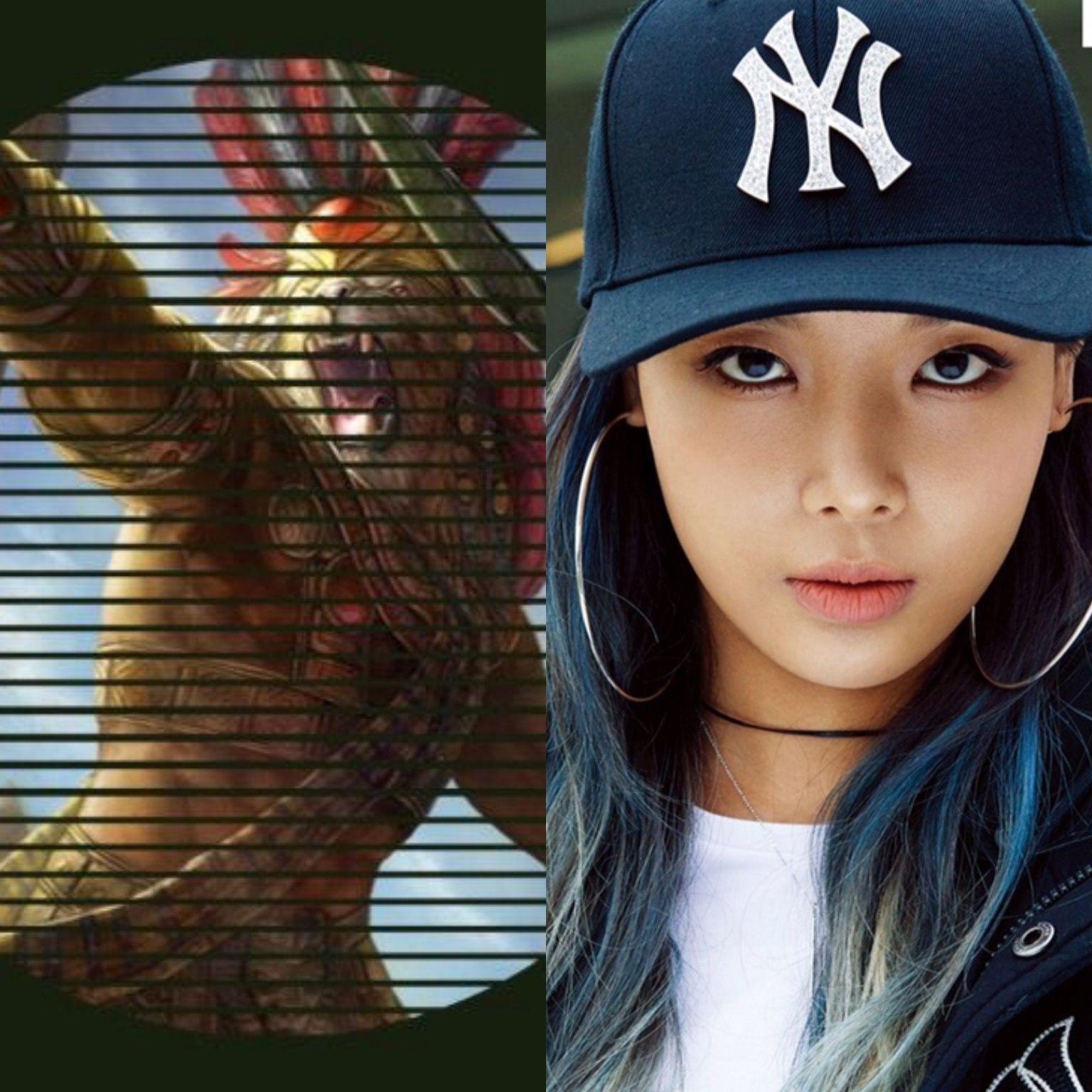 EgyptianCabins&KPOP // Anhur // Yubin of WonderGirls