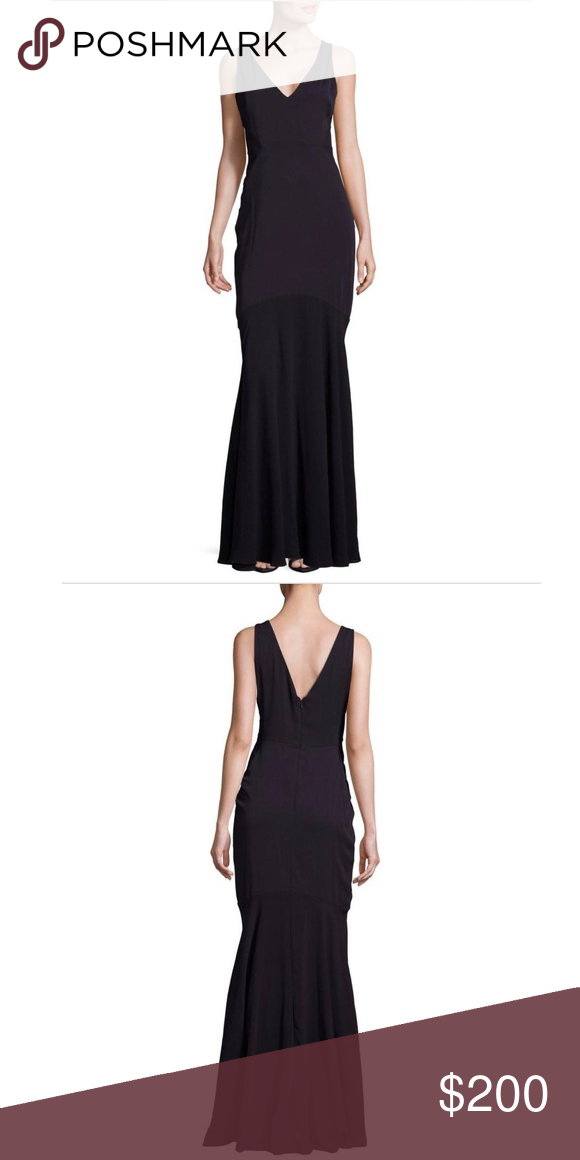 5ee2aafdf36 Spotted while shopping on Poshmark  NEW Erin Fetherston Sleeveless Navy  Mermaid Gown!  poshmark  fashion  shopping  style  ERIN by Erin Fetherston   Dresses ...