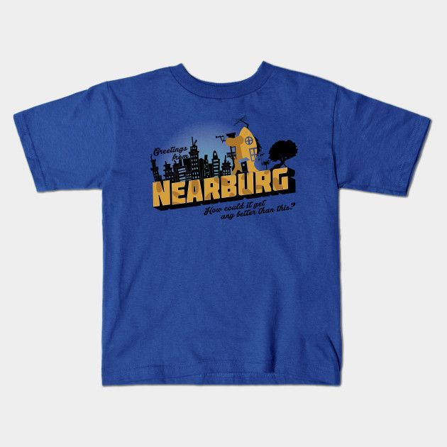 Greetings From Nearburg! Young T-Shirt