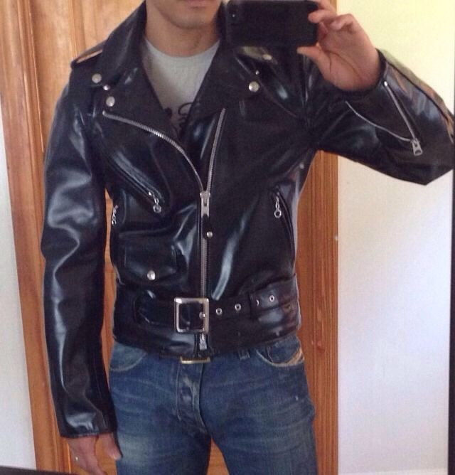 """4d5e56f30ea4d Details about Schott 613 Perfecto """"One Star"""" Leather Motorcycle ..."""