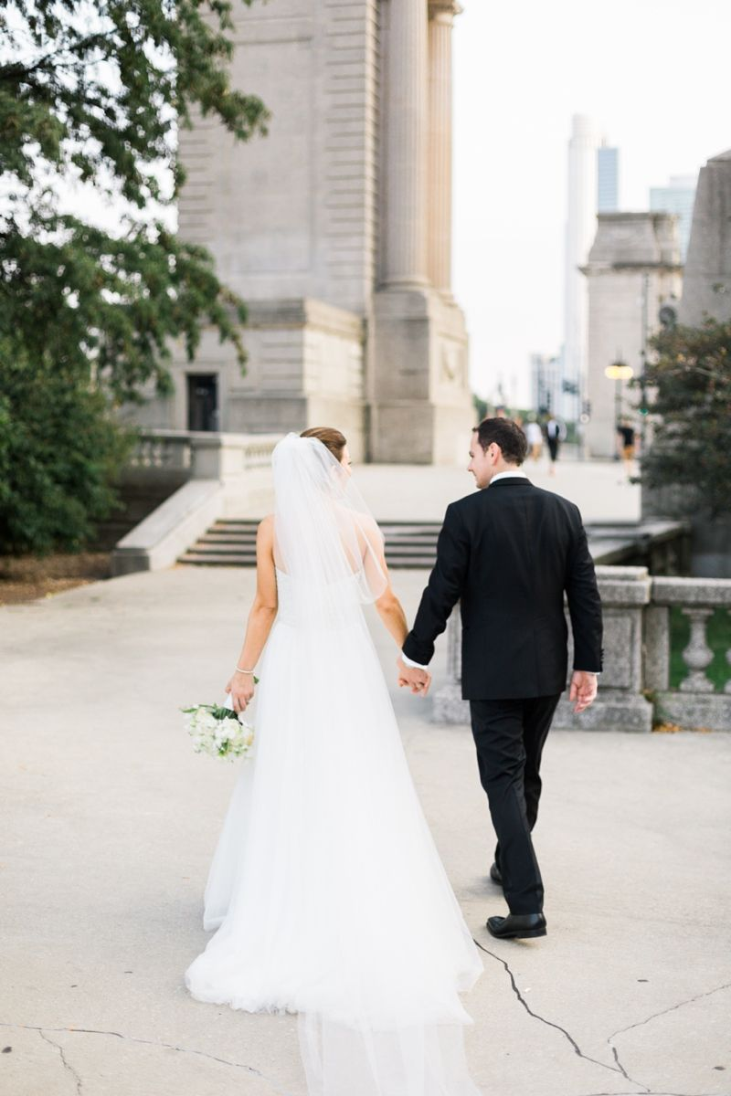 Chicago wedding dresses  Caitlin and Nello  University Club of Chicago Wedding  wedding