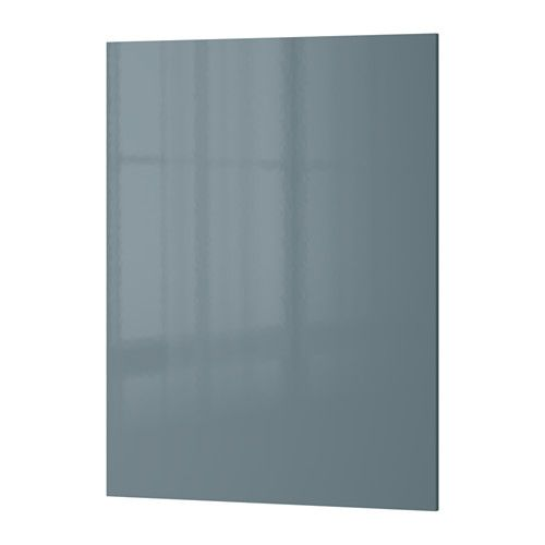 Best Kallarp Cover Panel High Gloss Grey Turquoise Ikea 640 x 480