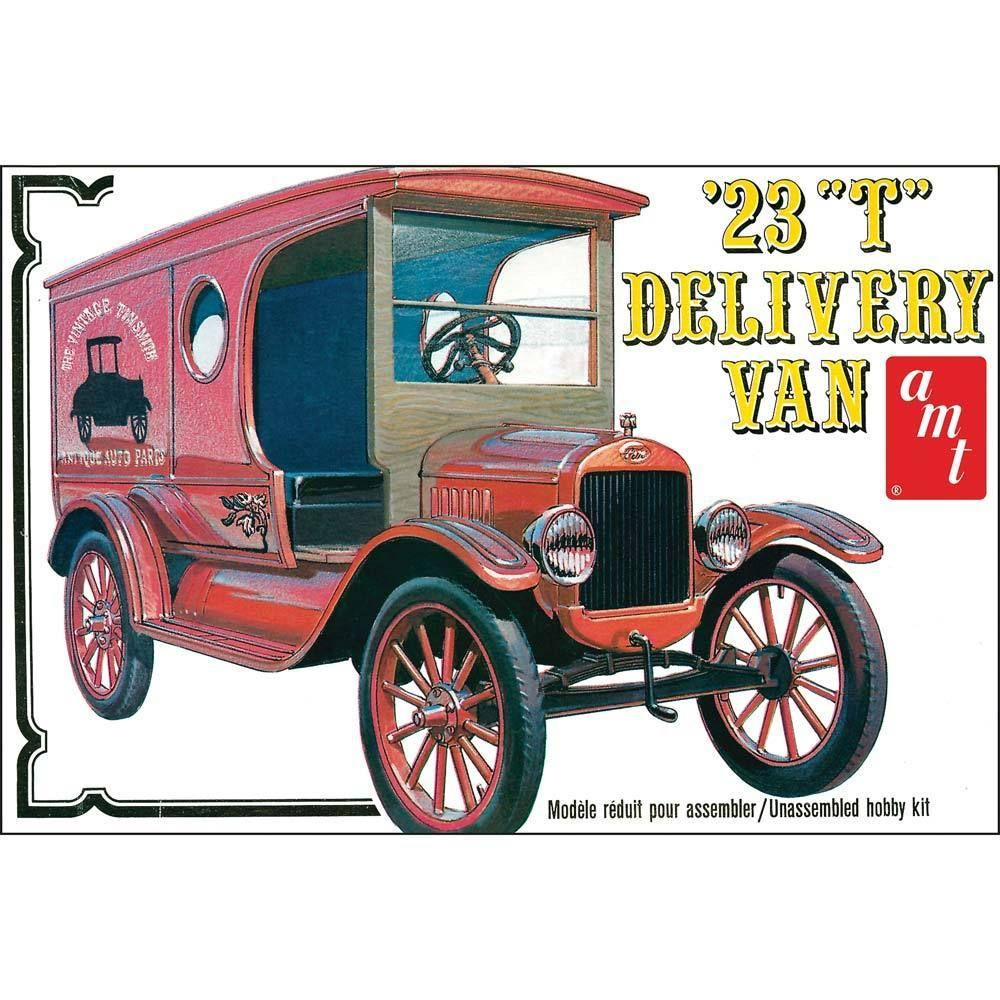 Amt 1 25 1923 Ford Model T Delivery Van Amt860 860 With New Improved Decal Sheet Ebay Plastic Model Kits Cars Model Cars Kits Car Model