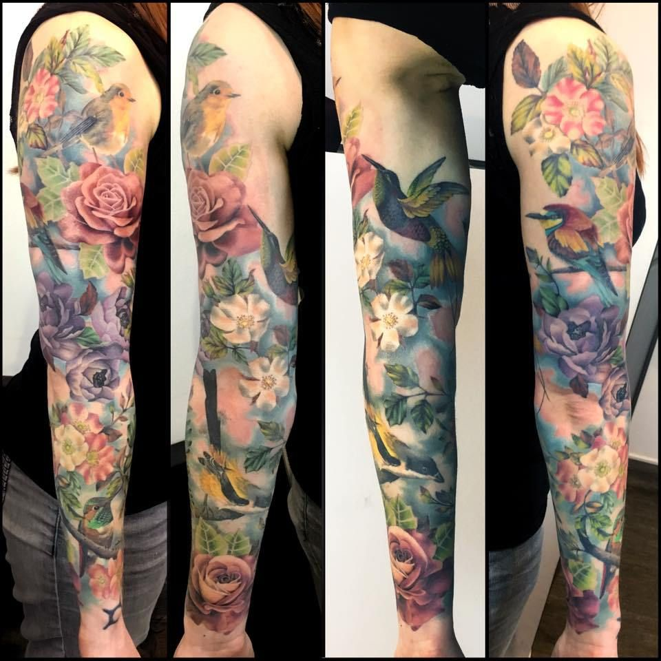 Pin By Facsar Eniko On Eni Nature Tattoo Sleeve Animal Sleeve Tattoo Realism Tattoo