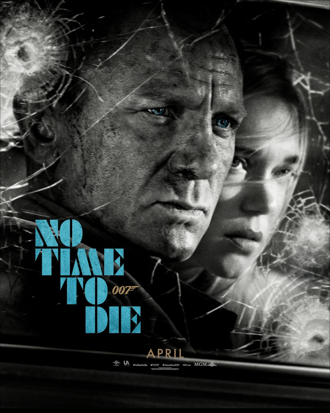 No Time To Die Official Poster In 2020 With Images James Bond