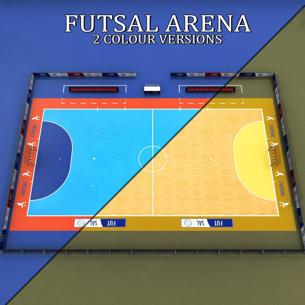 Futsal Court Arena Soccer Con Imagenes Canchas Terrazas Arena