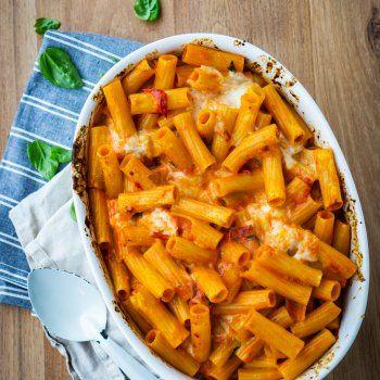 Rezept: Rigatoni-Auflauf – schneller Nudelauflauf – schnell und einfach – gernekochen.de
