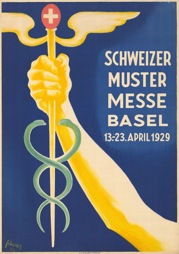 Carl Scherrer, Schweizer Mustermesse Basel, 1929