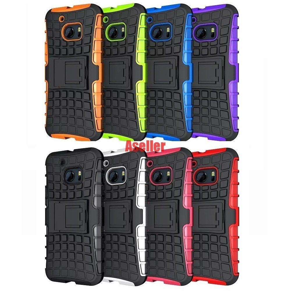 brand new 4cce2 d401a $4.83 - For Htc One M10 3D 2-Layer Shock Skip Proof Grenade Rugged ...