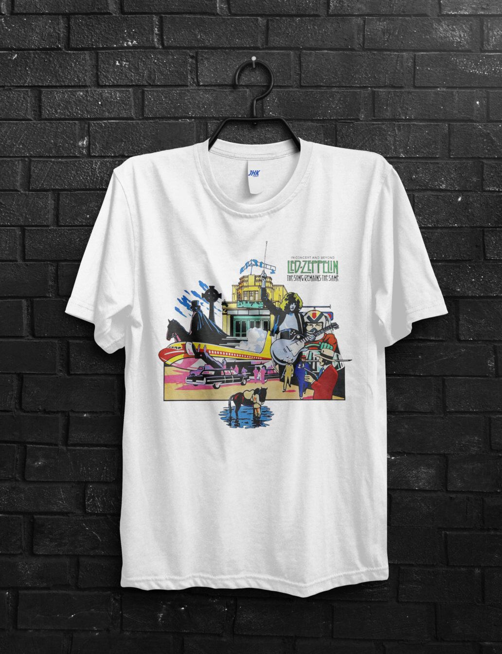 Black flag t shirt uk - Led Zeppelin Men T Shirt Japan Tour From Led Zeppelin Classic Rock