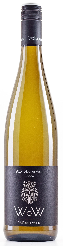 Silvaner Verde trocken 2014 Lagenwein Wein, Weißwein, Sekt