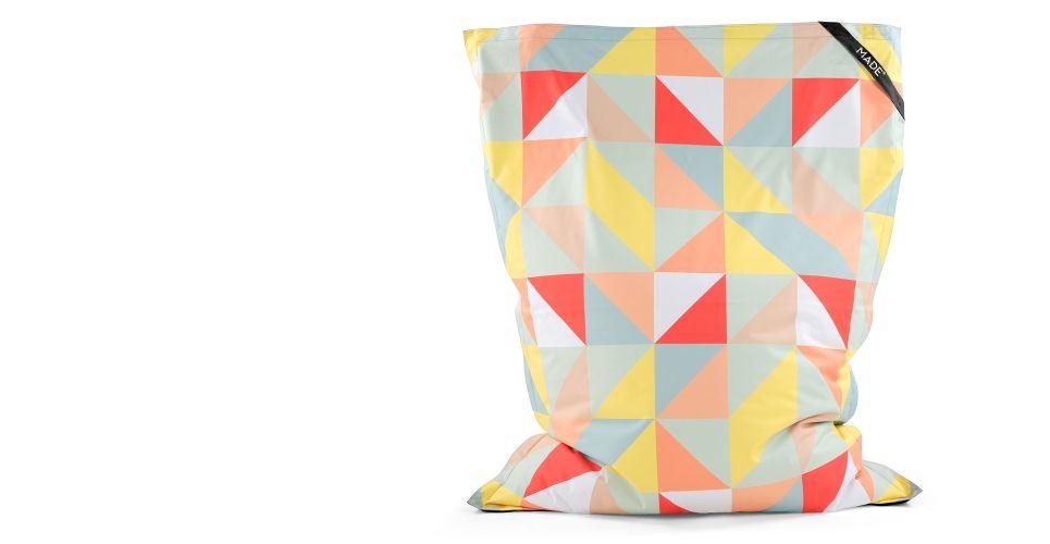 the piggy bag un pouf xxl multicolore d co sofa. Black Bedroom Furniture Sets. Home Design Ideas