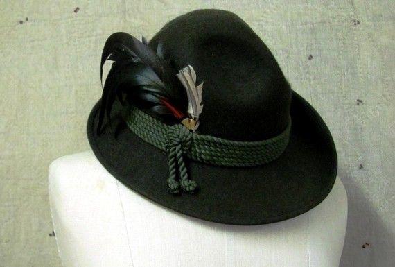1d7c94b85 YODELAYHEHOO Vintage German Alpine Hiking Hat | Hats | Hiking hat ...