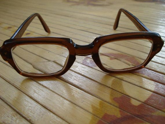 89776186f8c Vintage 1950s Glasses Military Issue BC Nerd by bycinbyhand, $35.00 ...