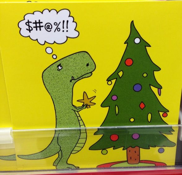 T Rex Christmas.T Rex Christmas Problems I Find That Amusing Witty