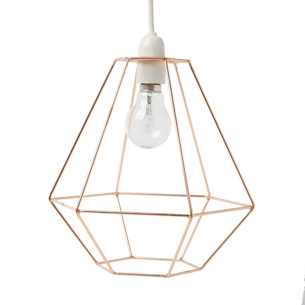 Diamond wire lampshade copper pasx interiors uk interior diamond wire lampshade copper keyboard keysfo Gallery