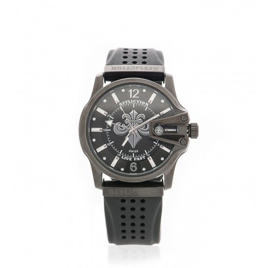 GENTS LARGE ROUND WATCH - Watches - Accessories - Mens