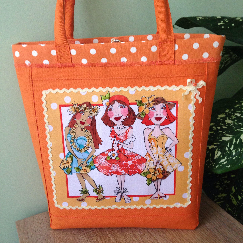 Loralie design Totebag | Handcrafts; felt and sewing | Pinterest ...