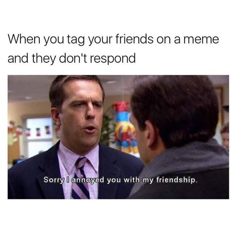 When You Tag Your Friends They Don T Respond Stupid Memes Funny Relatable Memes Really Funny