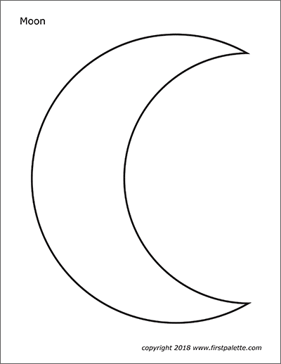 Moon   Free Printable Templates & Coloring Pages ...