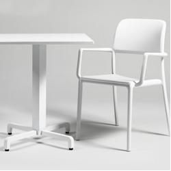 Nardi Riva Stapelsessel Kunststoff Weiss Nardi In 2020