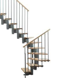 Best Arke Kompact 35 In Grey Modular Staircase L Kit K35025 640 x 480