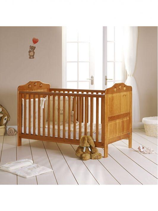 Obabya Lisa Pine Cot Bed Bundle Littlewoods Com Home And