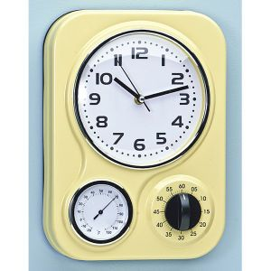 Awesome Retro Kitchen Clock With Timer