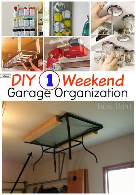 1 weekend garage organization garage organization on cool diy garage organization ideas 7 measure guide on garage organization id=63230