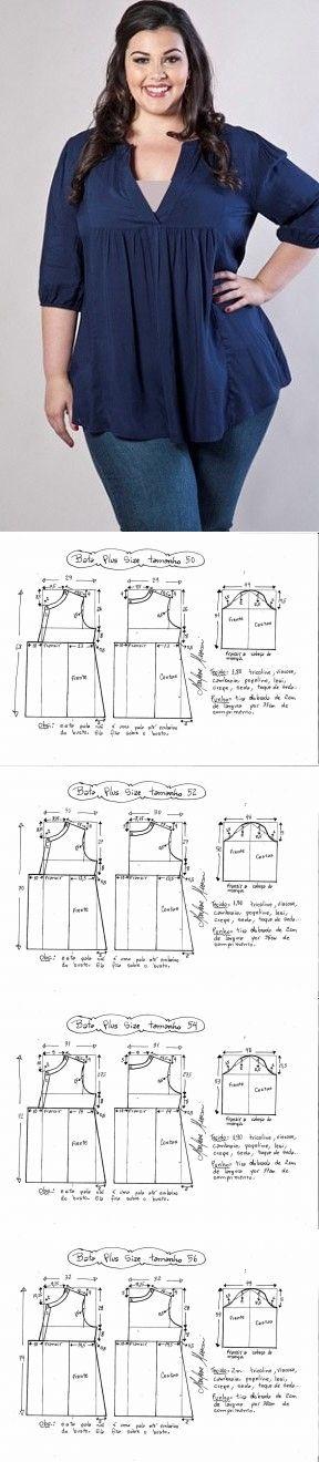Sencillo de corte sencillo modelo - la costura y el bordado rápida ...