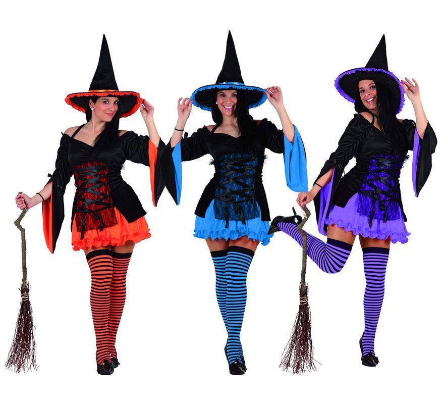 Mujer Terror Disfraz de bruja, Disfraces de brujas mujer, Di