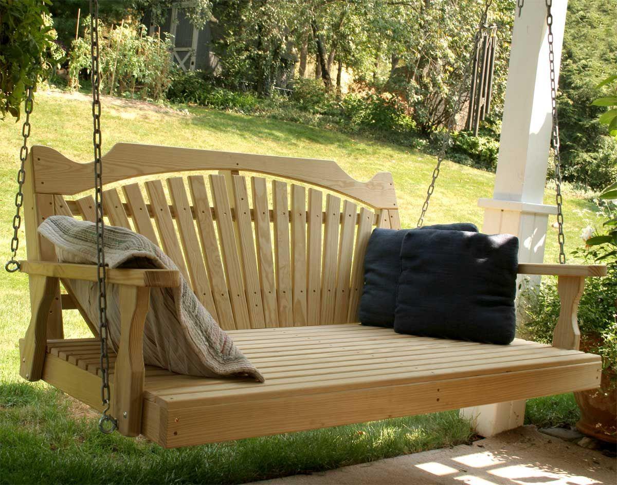 Outdoor swinging beds ideas home decor pinterest porch porch
