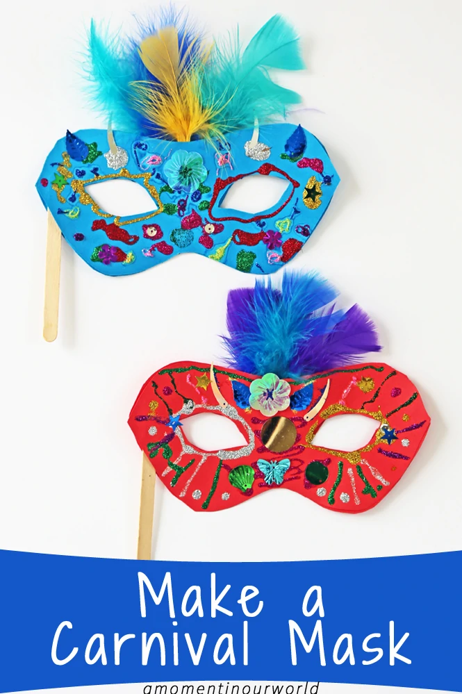 Make a Brazilian Carnival Mask - Simple Living. Creative Learning