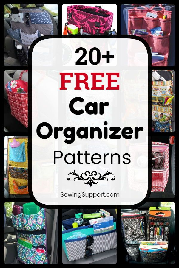 20+ Free Car Organizer Patterns