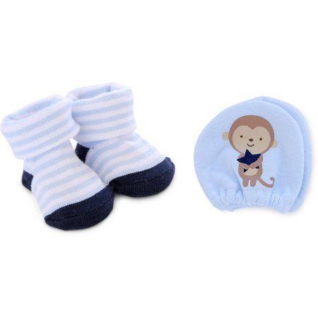 03e9bfb114c5 Child of Mine by Carter s Newborn Baby Boy Keepsake and Mittens Set ...