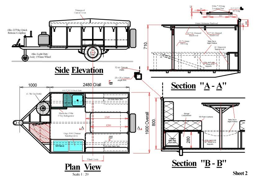 Diy camper plans submited images pinterest trailer diy camper plans submited images malvernweather Gallery