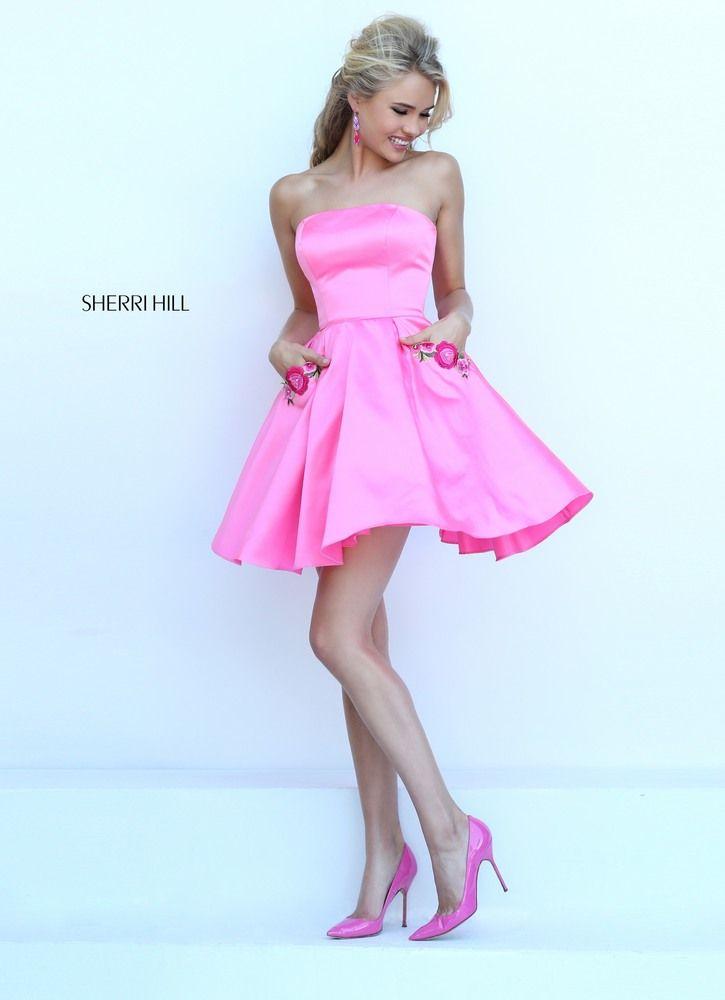 SHERRI HILL 50220 | A. CORTOS. TRAJES | Pinterest | Vestidos cortos ...