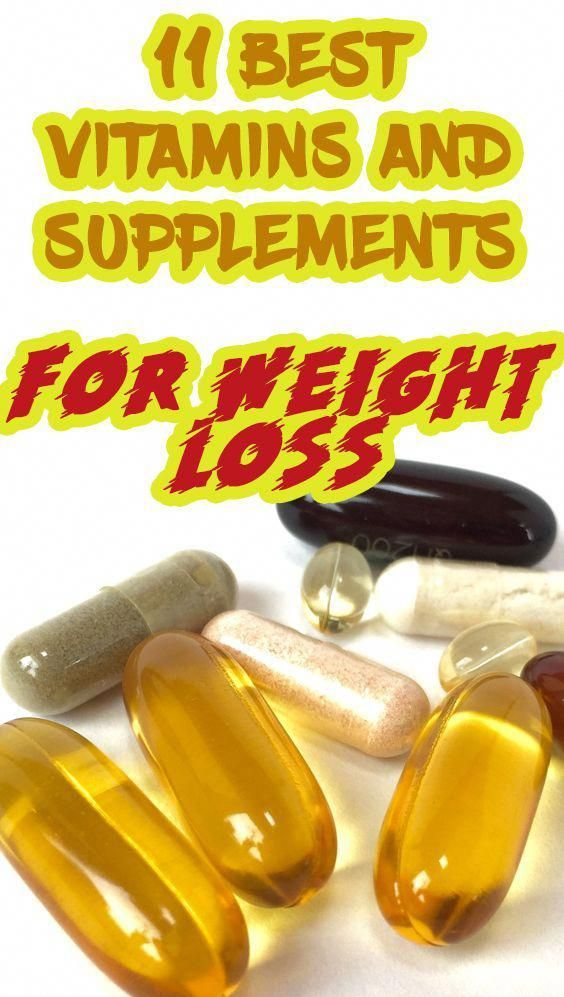 11 Best Vitamins And Supplements For Weightloss