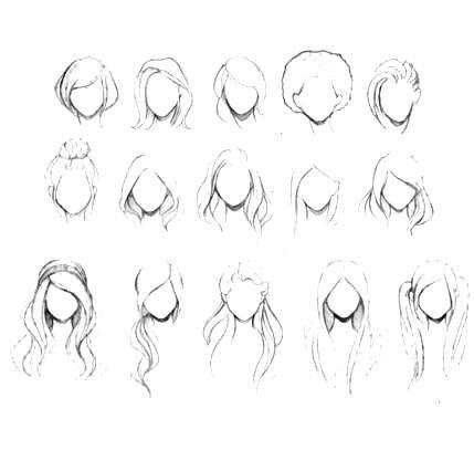 25 ides de dessin de cheveux Afro Illustrations -