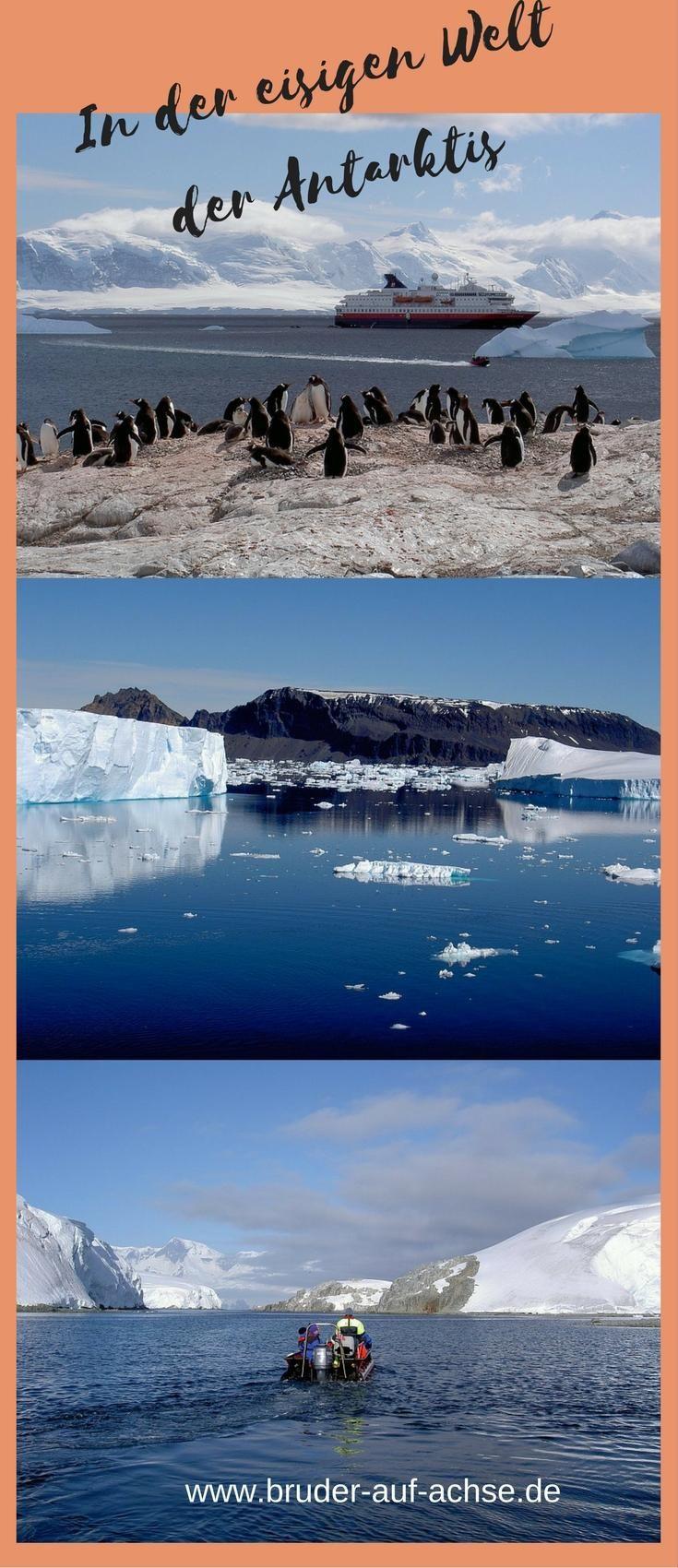 Tafelberge Aus Eis Und Millionen Pinguine Die Antarktis Ist Noch