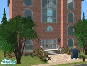 cathee's Downloads / Sims 2 / Lots / University Lots