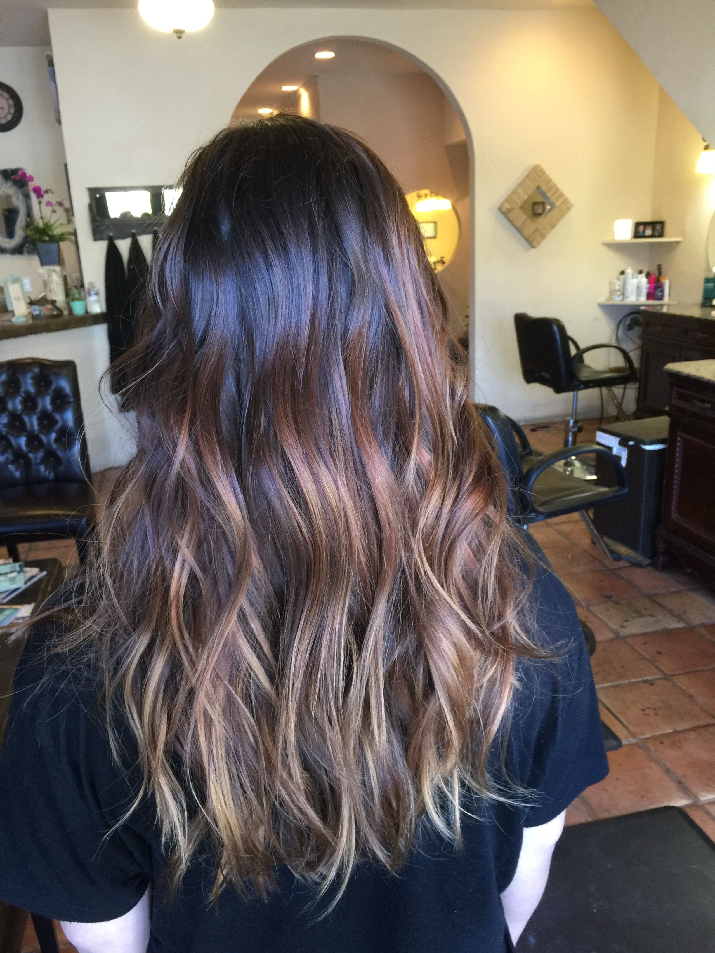 Arte Salon And Spa Auburn Balayage By Alyssa Brown At D Arte Salon And Spa Hair