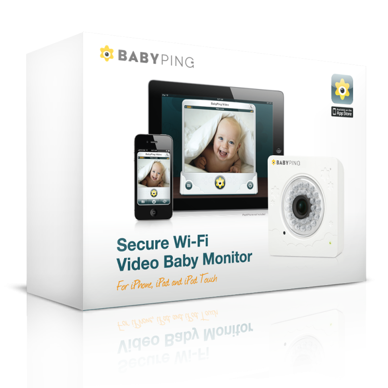 Buy BabyPing WiFi Baby Video Monitor Official USA Online