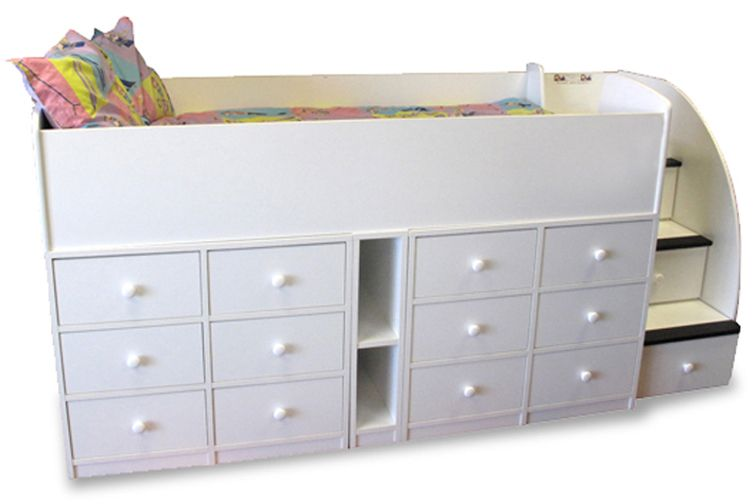Kids Beds with Drawers Underneath | Bed with drawers, Bed with
