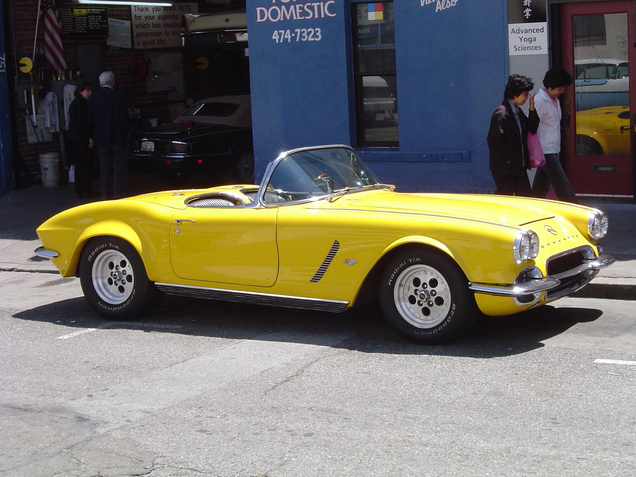 Descrizione 1963 corvette jpg